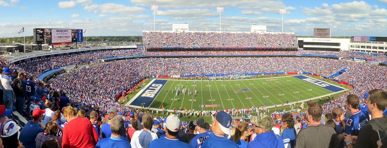 NFLのスタジアム