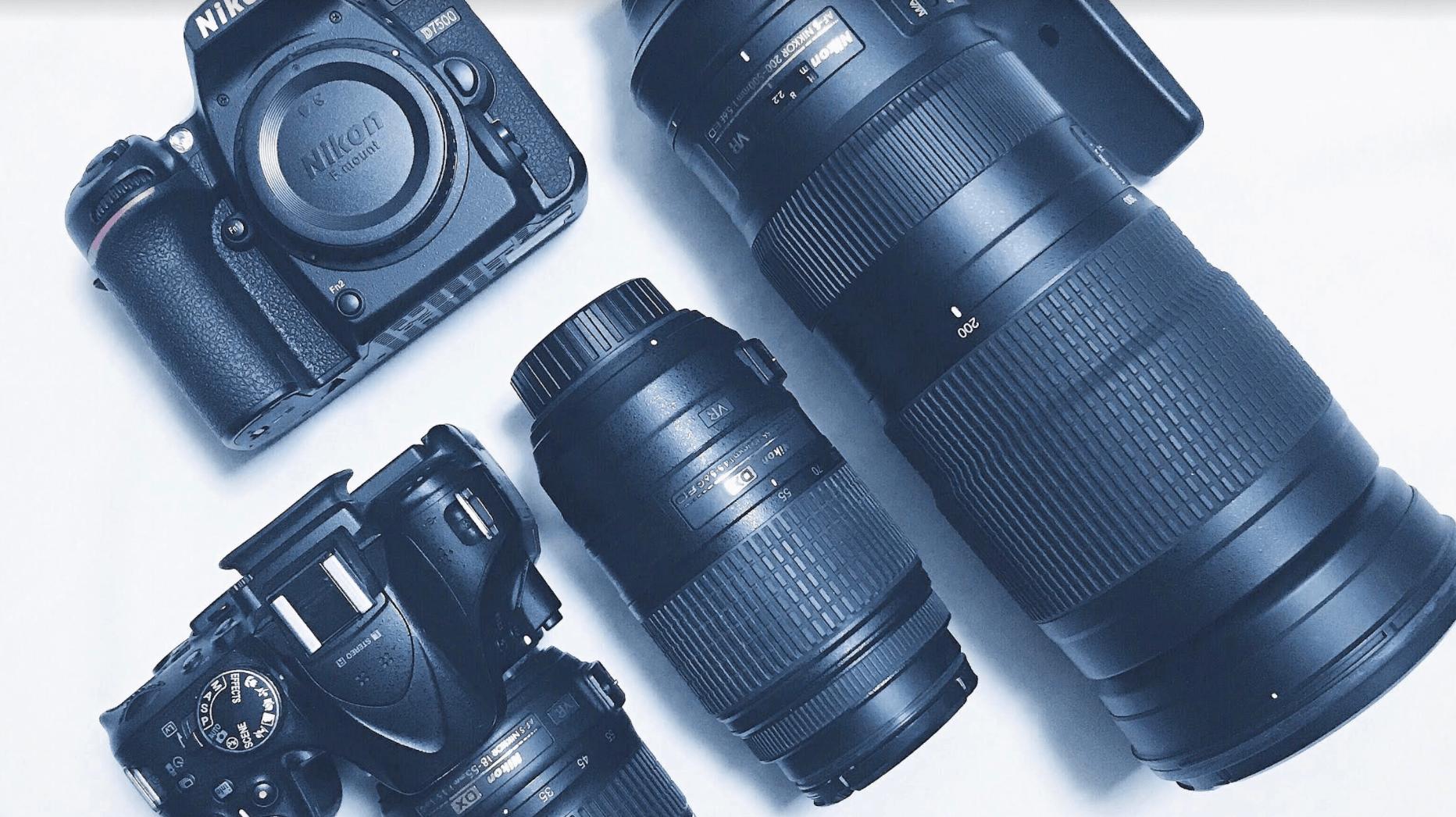 アメフト撮影用のカメラ