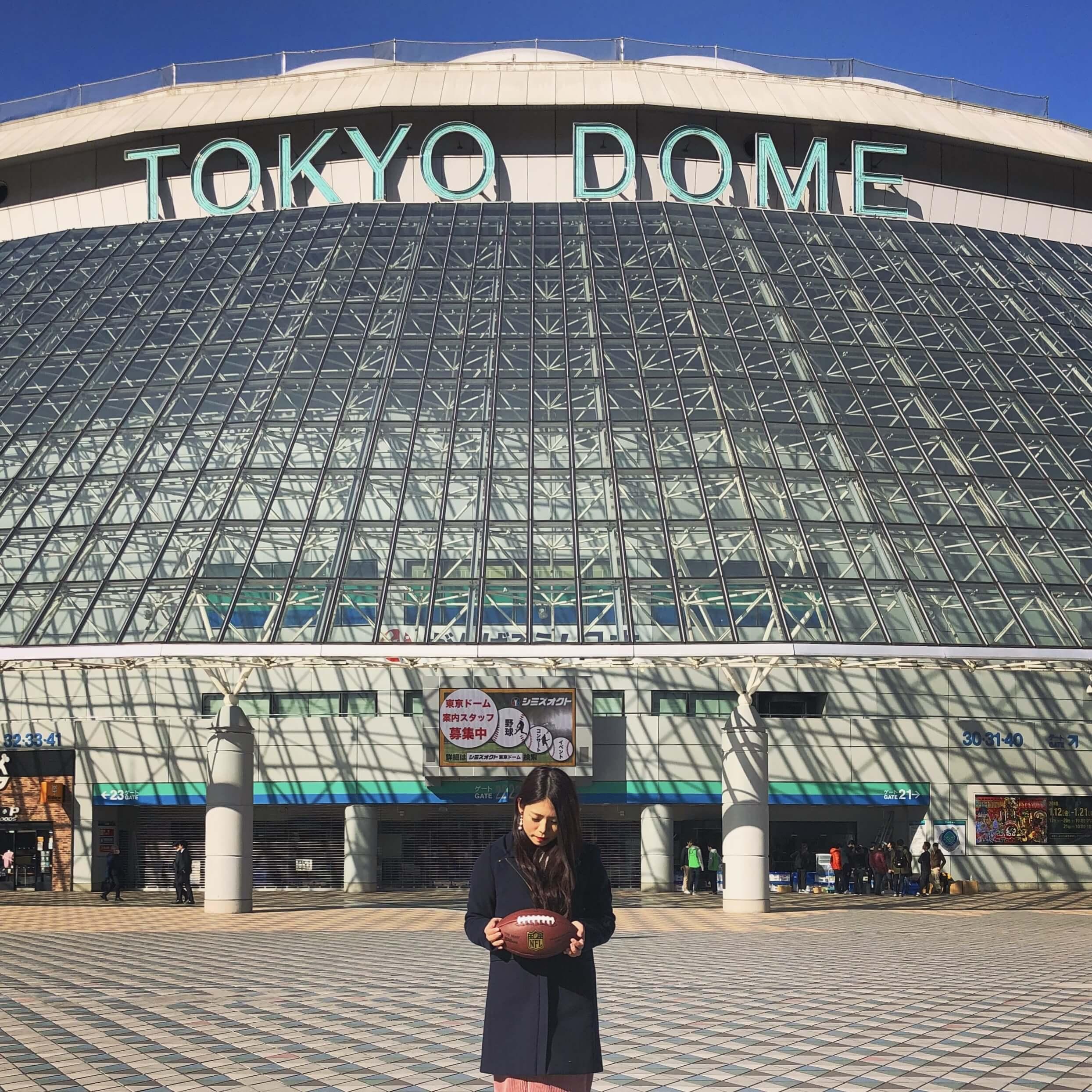アメフト観戦女子Megumiさんの写真