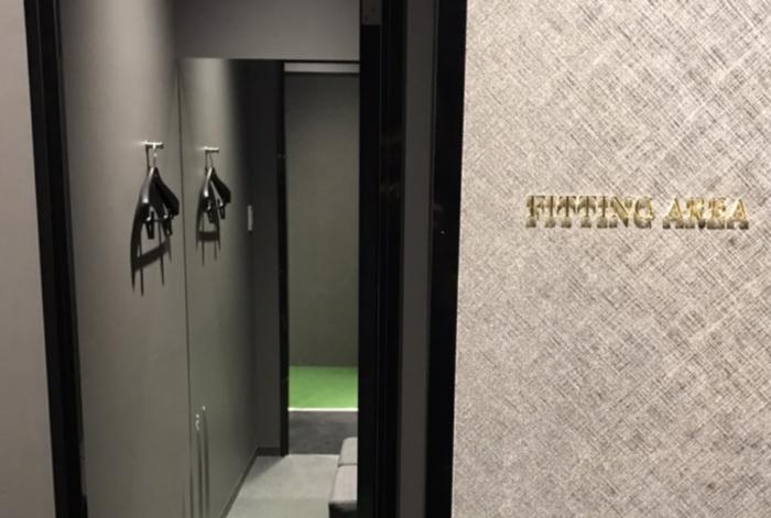 ライザップゴルフ天王寺店:更衣室